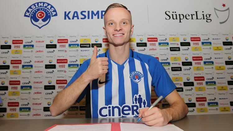 Son Dakika   Kasımpaşa, Florent Hadergjonaj'ı transfer etti