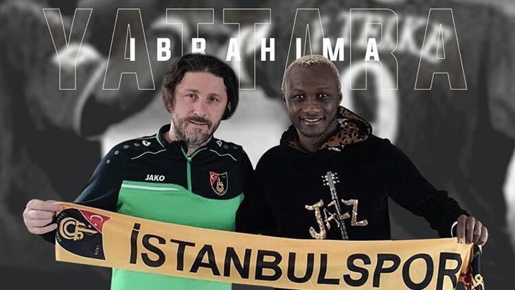 İbrahima Yattara, İstanbulspor'da teknik direktör Fatih Tekke'nin yardımcısı oldu