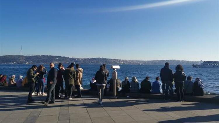 İstanbullular sahile akın etti