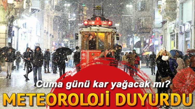 Yarın İstanbula kar yağacak mı Hava nasıl olacak 7 Şubat il il hava durumu tahminleri