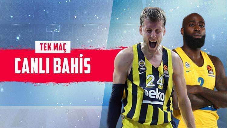 """Fenerbahçe Beko için """"mesaj"""" maçı! Rakip Maccabi, iddaa'da öne çıkan ise..."""