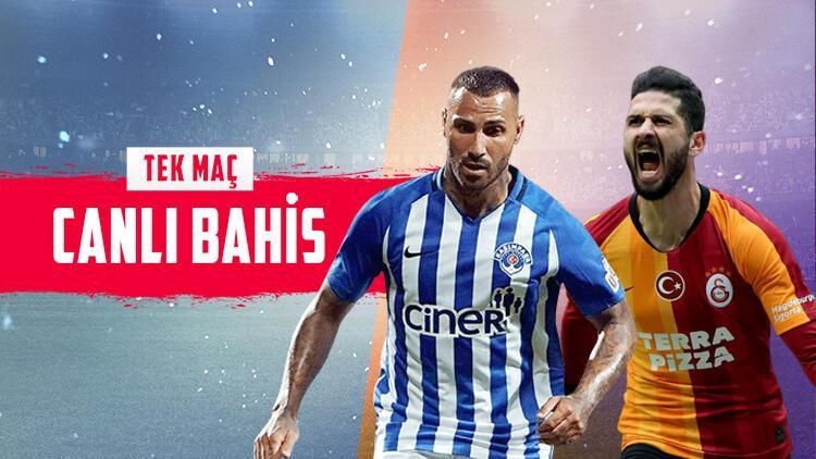 Galatasaray, derbi öncesi Kasımpaşa karşısında hata istemiyor Galibiyetlerine iddaada...