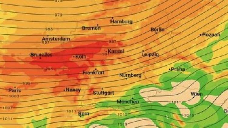 Kuzey ve Orta Avrupa, Sabine Kasırgası'na hazırlanıyor
