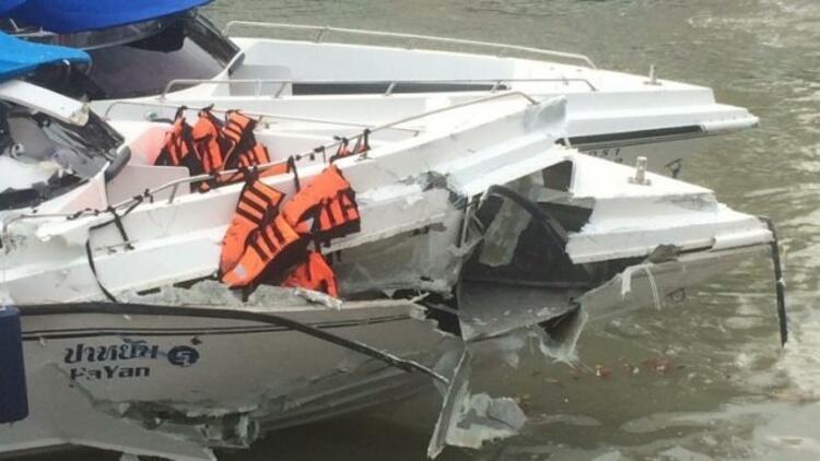 Phuket Adası'nda sürat tekneleri çarpıştı: 2 ölü, 20 yaralı