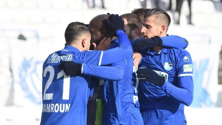 Erzurumspor 3 puanı tek golle aldı