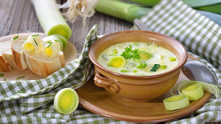 Patatesli pırasa çorbası tarifi