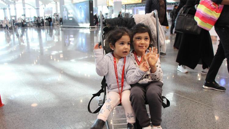 İstanbul Havalimanı'nda ücretsiz bebek arabası hizmeti