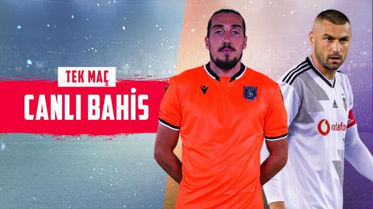 Süper Lig'de 22. haftayı açıyoruz! Başakşehir'in Beşiktaş maçı için iddaa'da...
