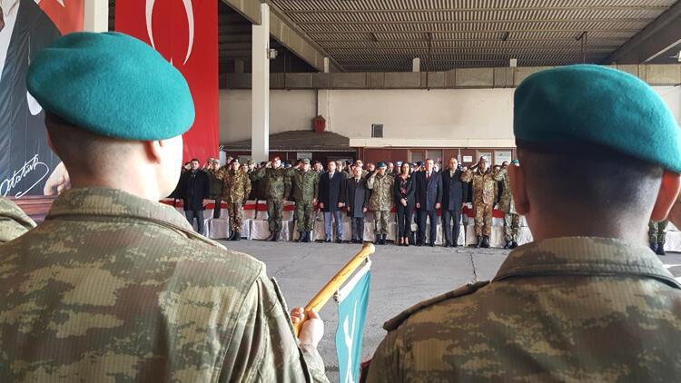 Kosova Türk Temsil Heyeti'nde komuta devir teslimi