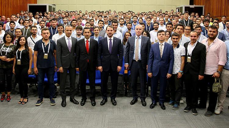 Bakan Berat Albayrak: Nükleer enerjinin kahramanları olacak gençler mezun oldu