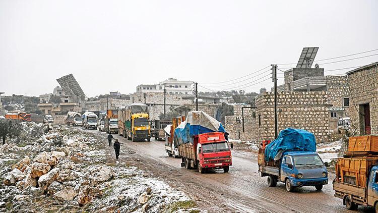 Afrin'e büyük göç