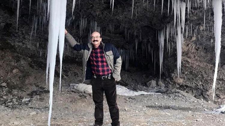 Şelaleler buz tuttu!