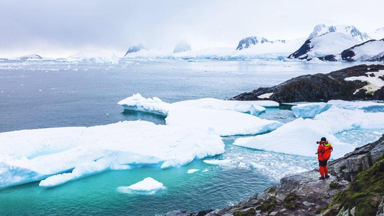 Antarktika yanıyor!