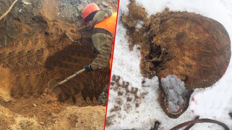 Kazı yapıldı, mafya üyelerinin iskeleti ortaya çıktı!