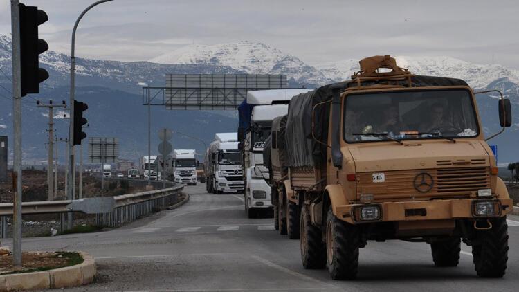 Suriye'ye asker sevkiyatı