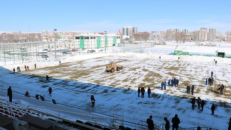 Sivas Belediyespor - Ankara Demirspor maçı ertelendi