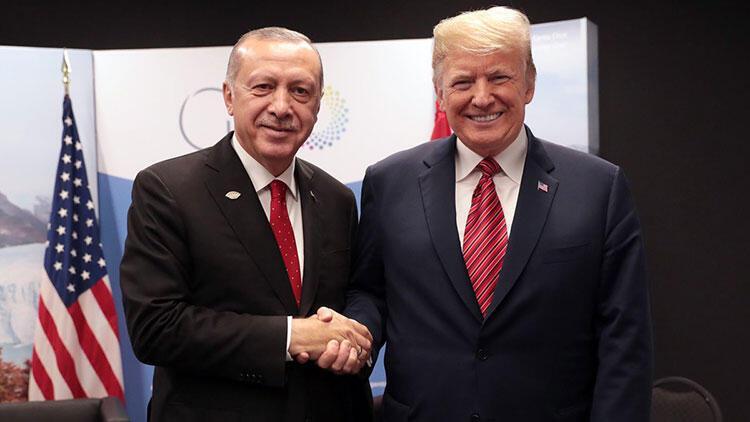 Son dakika... Cumhurbaşkanı Erdoğan, ABD Başkanı Trump ile görüştü