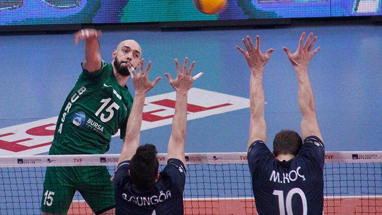 Bursa Büyükşehir Belediyespor 0-3 Arkas Spor
