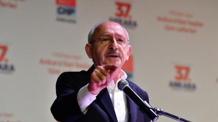 Kılıçdaroğlu, CHP'nin Ankara İl Kongresi'nde konuştu