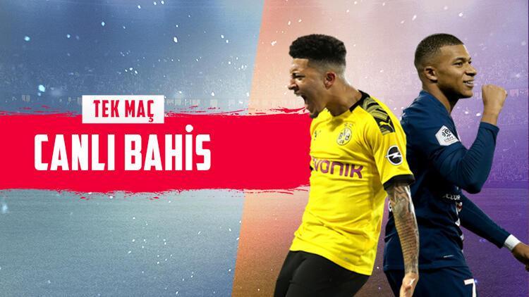 """Signal Iduna Park'ta enfes bir maç! """"Dortmund-PSG"""" maçına iddaa oynayanların..."""