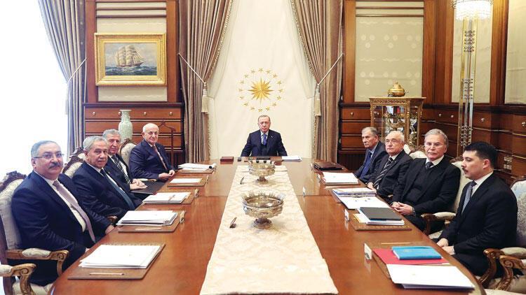 Erdoğan Beştepe'de YİK'i topladı