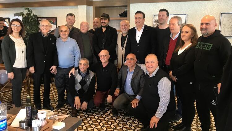 Yönetimden Çağdaş Beşiktaşlılar Derneği'ne ziyaret