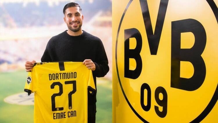 Emre Can, Borussia Dortmund ile 4 yıllık sözleşme imzaladı! 25 milyon euro...