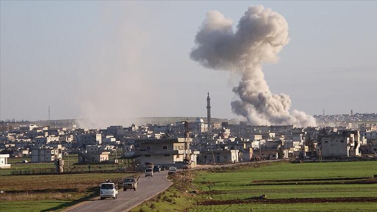 Rusya'nın İdlib'e saldırılarında 3 sivil öldü, 9 sivil yaralandı