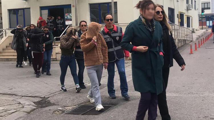Yalova'da fuhuş operasyonu: 50 şüpheli adliyede