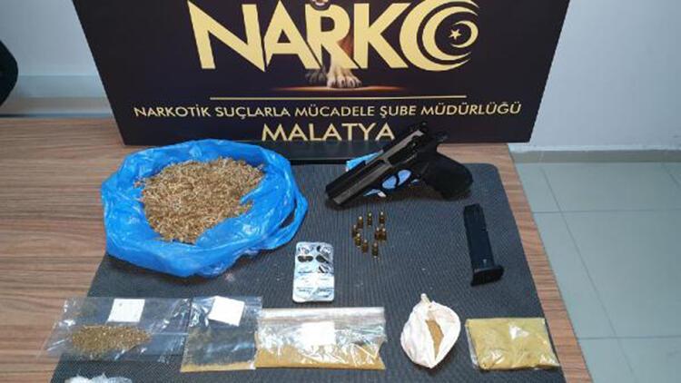Malatya'da uyuşturucu ticaretine 11 gözaltı