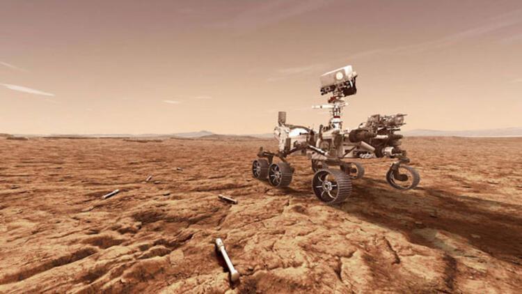 Mars'ta devasa bir hortum görüntülendi