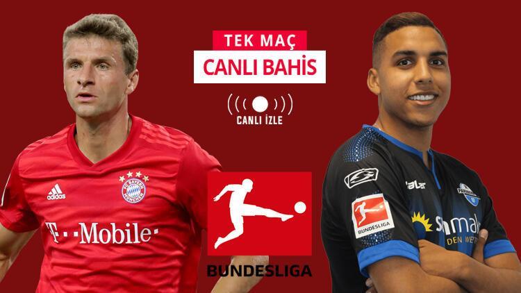 Bundesliga'da 23. haftayı Bayern açıyor! Bu maça iddaa oynayanların %62'si...