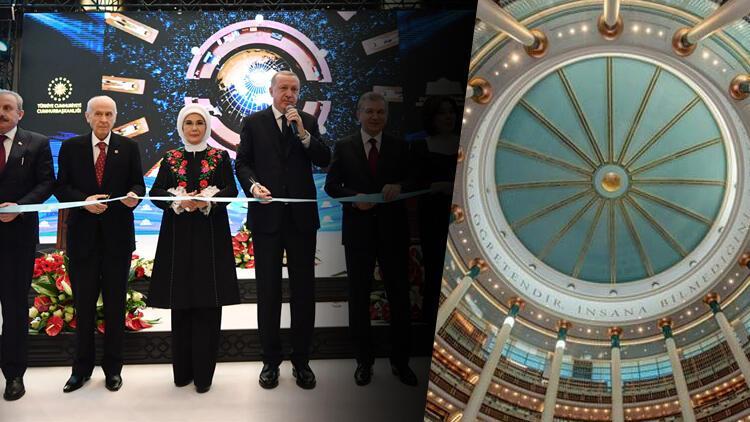 Son dakika haberler... Cumhurbaşkanı Erdoğan Millet Kütüphanesi açılışında konuştu