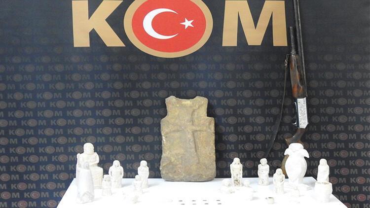 Kırıkkale'de tarihi eser operasyonu