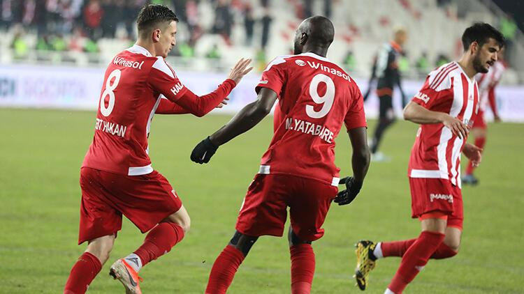 Sivasspor 1-0 Aytemiz Alanyaspor