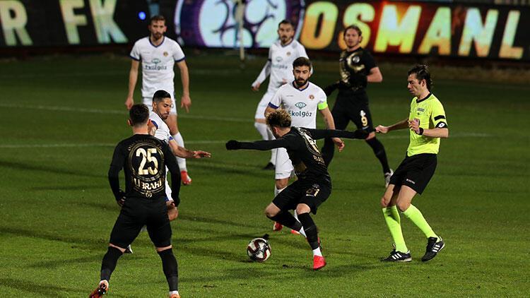 Osmanlıspor 2-0 Ekol Göz Menemenspor