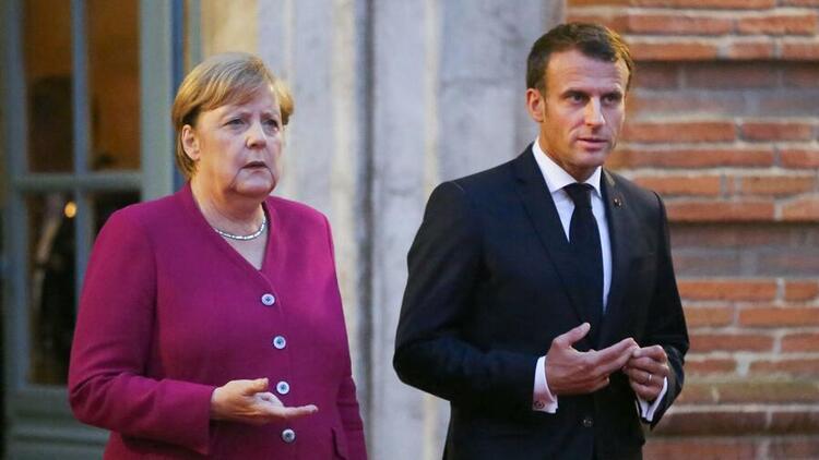 Son dakika haberi: Merkel ve Macron'dan İdlib açıklaması