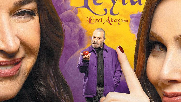 9 Kere Leyla'nın afişi hazır