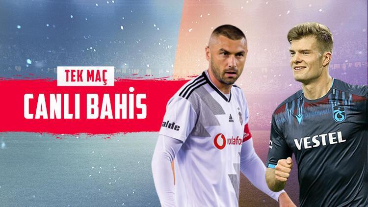 "Dolmabahçe'de dev randevu! ""Beşiktaş - Trabzonspor"" maçına banko iddaa tercihi..."