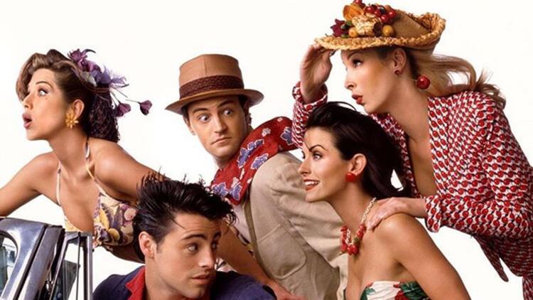 """Efsane dizi Friends """"bir kereliğine"""" geri dönüyor"""