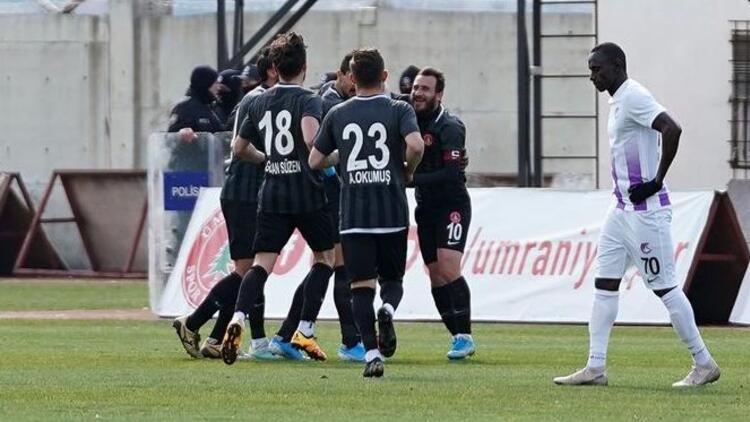 Cesar Grup Ümraniyespor: 2 - Keçiörengücü: 0