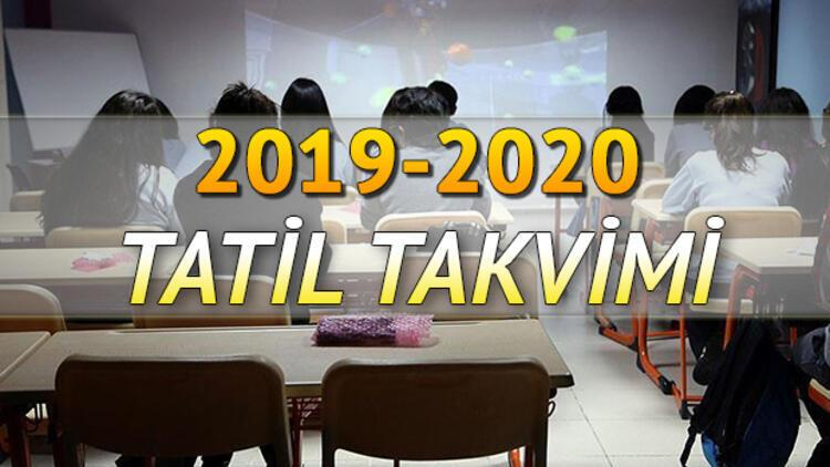 İkinci dönem ara tatil ne zaman 2020? Okullar ne zaman kapanacak?