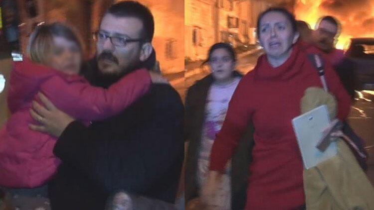 9 araç kundaklandı, Fatih'te mahalle yangın yerine döndü