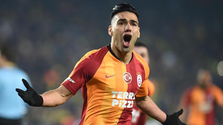 "Galatasaray'da Radamel Falcao'dan derbi yorumu: ""Çok dua ettik"""