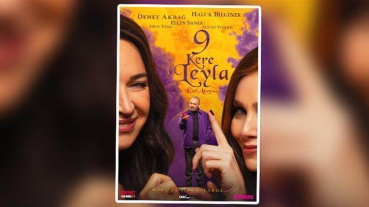 Ezel Akay'dan '9 Kere Leyla' geliyor