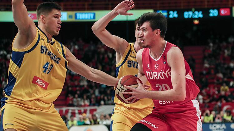 İsveç 87-80 Türkiye