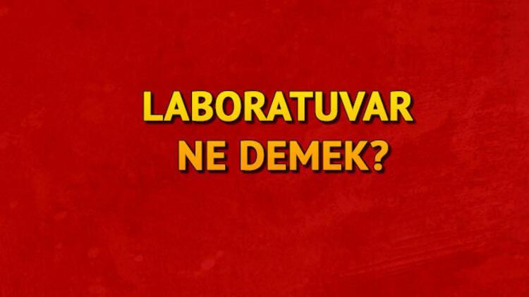 Laboratuvar nasıl yazılır TDKya göre laboratuvar mı laboratuar mı