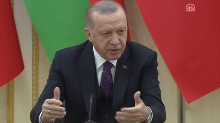 Son dakika haberler... Cumhurbaşkanı Erdoğan'dan Azerbaycan'da önemli açıklamalar