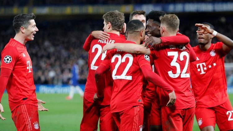 Bayern Münih, Chelsea'yi deplasmanda dağıttı