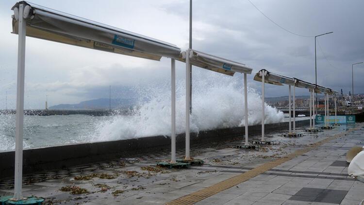 Marmara'ya fırtına uyarısı
